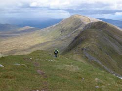 Munro walking Mam Sodhail, Glen Affric, near Shenval B&B © Thomas Neubert