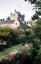Cawdor Castle and gardens, tourist attraction from Shenval B&B