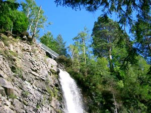Plodda Falls, near Shenval B&B and Glen Affric Highlands © Enno Nilson